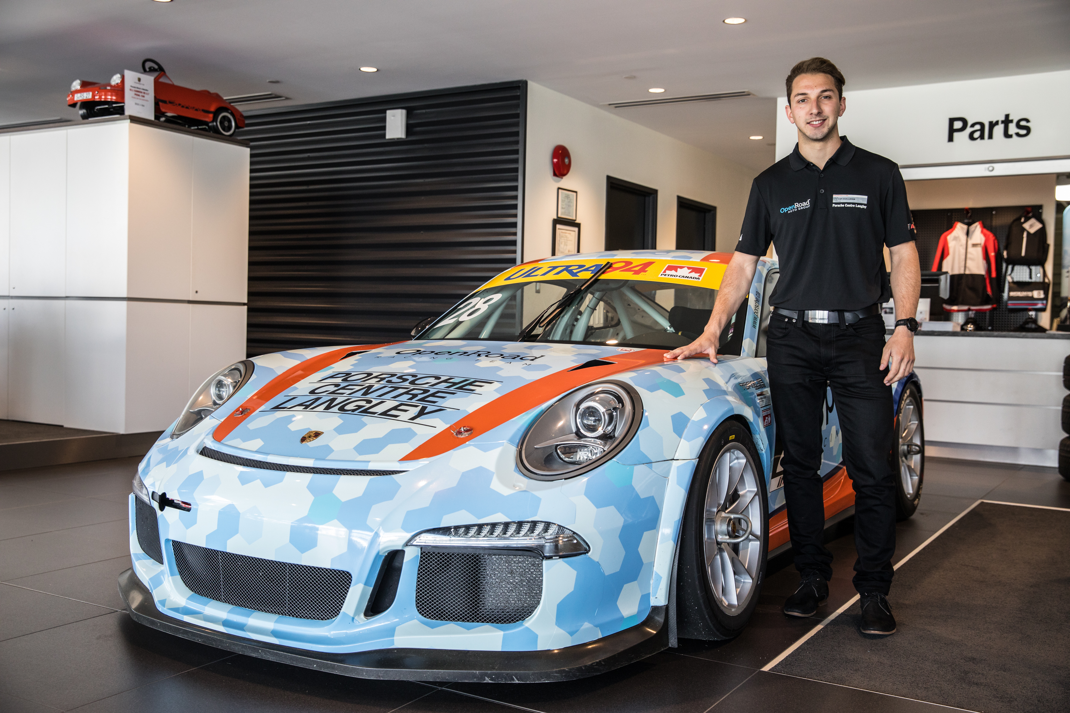 Ruscitti Joins OpenRoad Racing for 2017 Porsche GT3 Cup Canada Championship