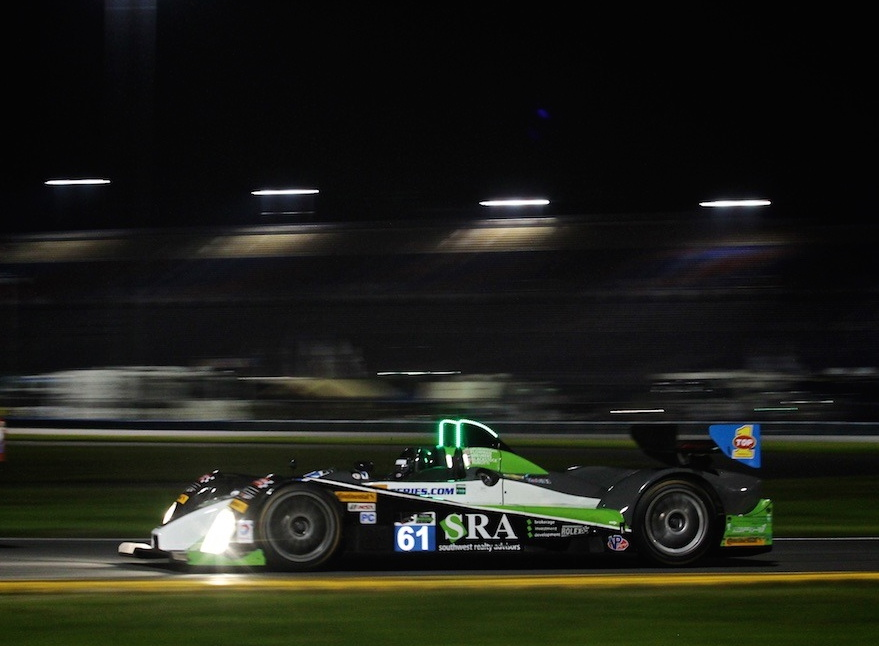 Ruscitti's First Shot at the Rolex 24Hrs at Daytona