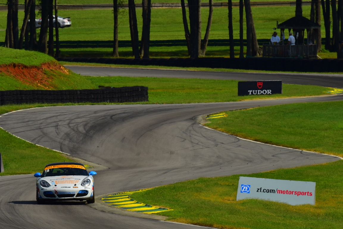Heartbreak in the Closing Stages at VIR.